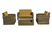 Patio 4 Piece Conversation Set on Sale